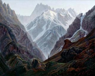 Carl Gustav Carus, Haute Montagne