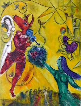 La danse, Chagall