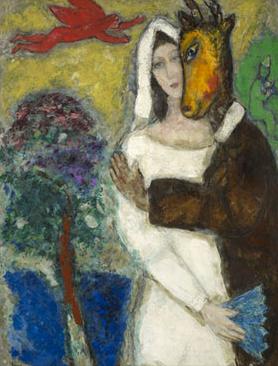 Songe d'une nuit d'été, Chagall