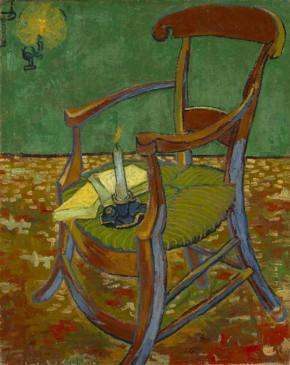 «Le Fauteuil de Gauguin», 1888. (Photo Amsterdam Van Gogh Museum. Fondation Vincent Van Gogh)