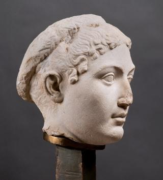 Portrait de Cléopâtre VII, Milieu du Ier siècle av. J.-C. Musée des antiquités, Turin