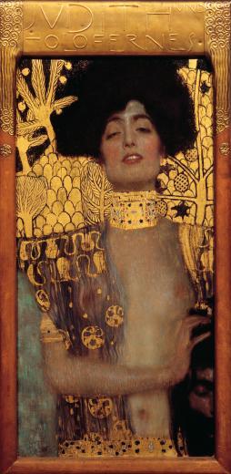 Gustav Klimt Judith 1901 Huile sur toile 84 x 42 cm  © Belvédère, Vienne