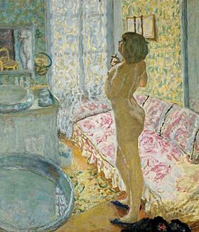 Nu à Contre-jour (1908) Pierre Bonnard, Musées royaux des Beaux-Arts de Belgique