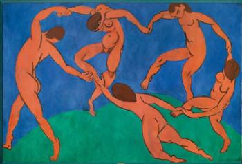 Henri Matisse (1869–1954), La Danse, 1909–1910, Huile sur toile, 260 × 391 cm, Saint-Pétersbourg, musée de l'Ermitage © Succession H. Matisse Photo : © The State Hermitage Museum, Saint Petersburg, 2015/ Vladimir Terebenin, 2014