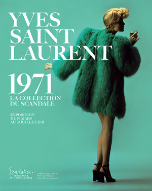 affiche_exposition_yves_saint_laurent_1971