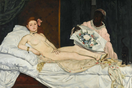 Olympia (1863) d'Édouard Manet (1832-1883) © Dist. RMN-Grand Palais / Patrice Schmidt - Paris, musée d'Orsay