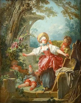 Jean-Honoré Fragonard (1732-1806), Le Colin-Maillard, vers 1754-1756, Huile sur toile - 117 x 91 cm,, Toledo, Toledo Museum of Art, don Edward Drummond Libbey