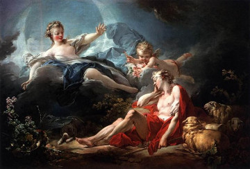 Jean-Honoré Fragonard (1732-1806), Diane et Endymion, vers 1755-56, Huile sur toile - 94,9 x 136,8 cm, Washington, National Gallery of Art, Photo : Washington, National Gallery of Art