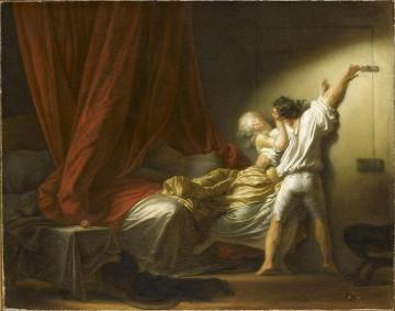 Jean-Honoré Fragonard (1732-1806), Le Verrou, vers 1777-1778, Huile sur toile - 74 x 94 cm Paris, musée du Louvre, Photo: RMN-GP/Stéphane Maréchalle