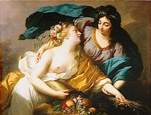 Elisabeth Vigée Le Brun, La Paix ramenant l'Abondance