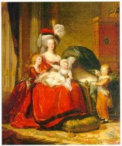 Elisabeth Vigée Le Brun, La Reine et ses enfants