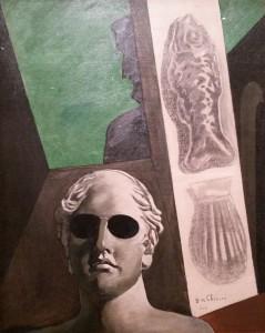 Giorgio de Chirico, Portrait de Guillaume Apollinaire