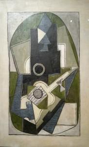 Pablo Picasso, L'Homme à la guitare