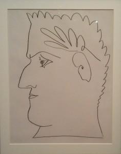 Pablo Picasso, Portrait lauré de Guillaume Apollinaire