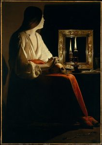 The Penitent Magdalen, Georges de La Tour (vers 1640)