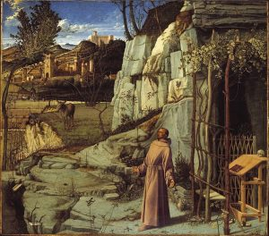 Giovanni Bellini, L'extase de Saint François, vers 1480