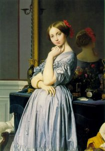 Jean-Auguste-Dominique Ingres, La comtesse d'Haussonville, 1845