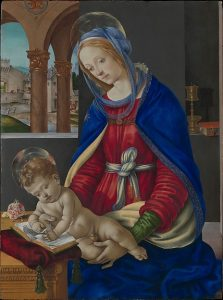Madonna and Child, Filippino Lippi (1483–84)