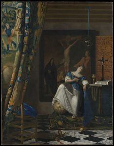 Allegory of the Catholic Faith, Johannes Vermeer (1670–72)