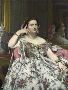 Jean Auguste Dominique Ingres (1780-1867), Madame Moitessier, Londres, The National Gallery