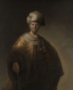 Rembrandt (1606-1669) Vieil homme en costume oriental - 1632 Huile sur toile - 152,7 x 111,1 cm New York, The Metropolitan Museum of Art, Bequest of William K. Vanderbilt, 1920 © The Metropolitan Museum of Art, Dist. RMN-Grand Palais / image of the MMA